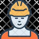 Worker Laborer Shopman Icon