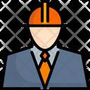 Engineer Worker Petroleum Icon