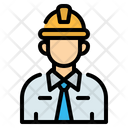 Engineer Worker Construction Icon