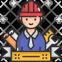 M Engineer Engineer Labor Icon