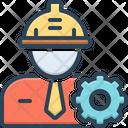 Engineer Helmet Occupation Icon