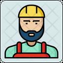 Engineer Worker Avatar Icon