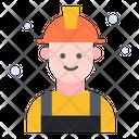 Engineer Electric Man Icon