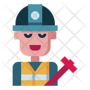 Engineer Worker Work Icon