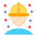 Engineer Constractor Worker Icon