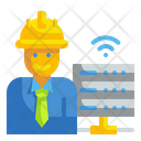 Engineer Big Data Job Icon