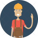 Engineer Character Profession Icon