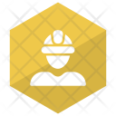Engineer Worker Builder Icon