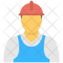 Engineer Mine Worker Icon