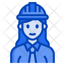 Engineer Architect Woman Occupation Female Icon