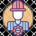 Engineering Engineer Worker Icon
