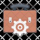 Portfolio Bag Engineering Icon