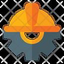 Engineering Labor Day Gear Icon