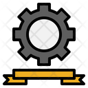 Engineering Labour Day Gear Icon