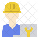 Engineering Developer Manager Icon