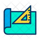 Blueprint Drawing Sheet Architecture Icon