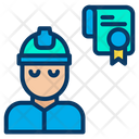 Engineering Certificate Icon