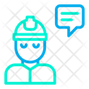 Chat Bubble Chatting User Icon