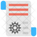 Engineering Document Icon