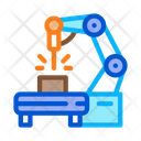 Manufacturing Engineering Machine Icon
