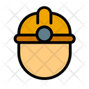 Engineering Man Construction Worker Icon