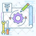 Engineering Process Icon