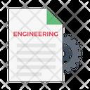 Engineering Report Engineering Document Engineering Icon