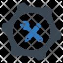 Engineering Tool Gear Icon