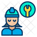 Tools Engineer Tools User Icon