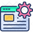 Engineering Website Coding Computer Icon