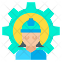 Worker Employee User Icon