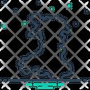 England Map Border Icon