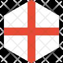 England Flag World Icon