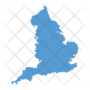 England Map Country Icon