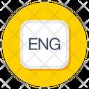 English Eng Language Icon