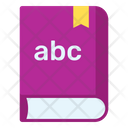 English Book Abc Book Educational Book Icon