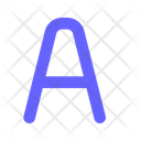 English Letter A English Language Icon
