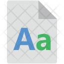 English Sheet Icon