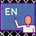 English Teacher Icon
