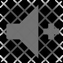 Enhance Volume Loudspeaker Icon