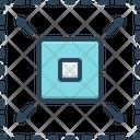 Enhance Enlarge Develop Icon