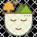 Enjoy Nature Green Icon