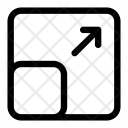 Enlarge Scale Transform Icon