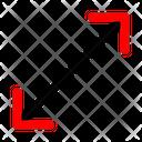 Enlarge Arrow Icon