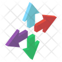 Enlarge Arrows Icon