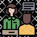 Enquiry Desk Help Desk Enquiry Icon