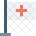 Ensign Flag Hospital Icon