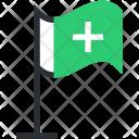 Ensign Flag Hospital Icon