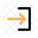 Enter Sign Direction Icon