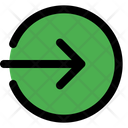 Enter Direction Interface Icon